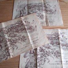 Coleccionismo de Revistas y Periódicos: EL CONSULTOR DE LOS BORDADOS NÚM. 506-639-647. Lote 208147656