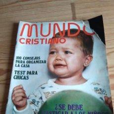 Coleccionismo de Revistas y Periódicos: REVISTA MUNDO CRISTIANO. Lote 208147787