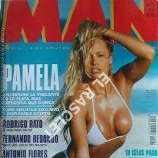 Coleccionismo de Revistas y Periódicos: MAN (LA REVISTA PARA HOMBRES ) - PAMELA ANDERSON Nº 92 - JUNIO 1995. Lote 208175040