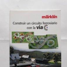 Coleccionismo de Revistas y Periódicos: REVISTA MARKLIN INSIDER. EL CLUB MARKLIN. CONSTRUIR UN CIRCUITO FERROVIARIO CON LA VIA C. Lote 208210806