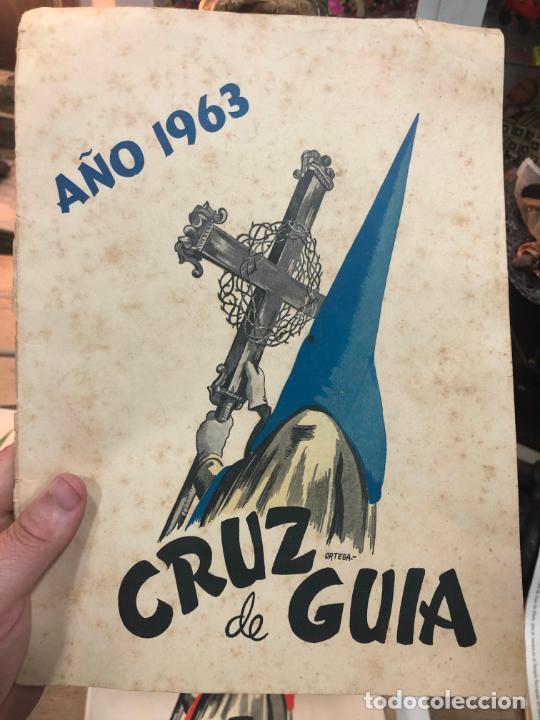 REVISTA CRUZ DE GUIA AÑO 1963 - SEMANA SANTA DE EL PUERTO DE SANTA MARIA (Coleccionismo - Revistas y Periódicos Modernos (a partir de 1.940) - Otros)