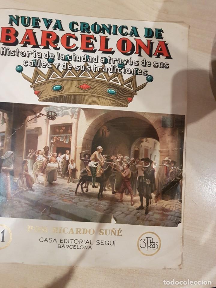 NUEVA CRONICA DE BARCELONA COMPLETO 167 NUMEROS AÑOS 40 (Coleccionismo - Revistas y Periódicos Modernos (a partir de 1.940) - Otros)
