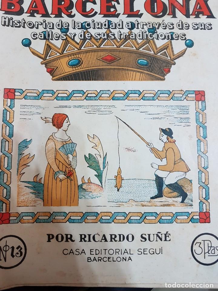 Coleccionismo de Revistas y Periódicos: NUEVA CRONICA DE BARCELONA COMPLETO 167 NUMEROS AÑOS 40 - Foto 2 - 209047835