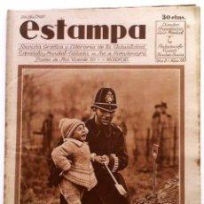 Coleccionismo de Revistas y Periódicos: ESTAMPA, REVISTA GRÁFICA Y LITERARIA. 22 DE ABRIL DE 1930, N.º 119. ORIGNAL DE ÉPOCA.. Lote 209114158