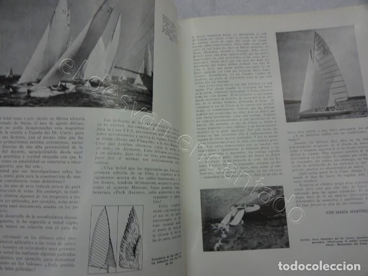Coleccionismo de Revistas y Periódicos: RUMBO. Revista de la Mar y de los Barcos. Año 1949 COMPLETO en un tomo - Foto 3 - 209207293
