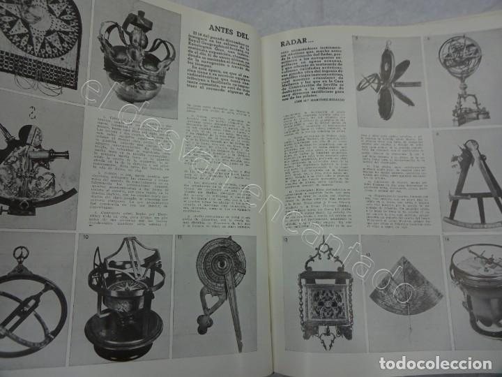 Coleccionismo de Revistas y Periódicos: RUMBO. Revista de la Mar y de los Barcos. Año 1949 COMPLETO en un tomo - Foto 4 - 209207293