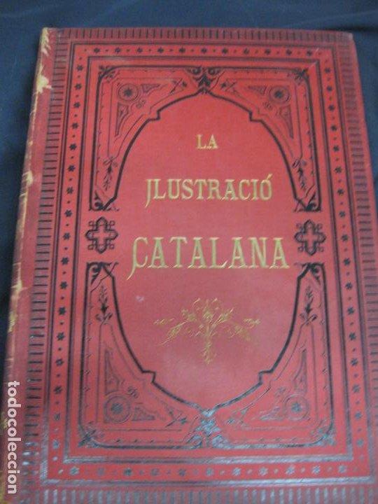 Coleccionismo de Revistas y Periódicos: LA ILUSTRACIO CATALANA. VOL I, II y III. (1880,1881,1882) PRIMERA EPOCA. - Foto 5 - 209579847