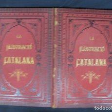Coleccionismo de Revistas y Periódicos: LA ILUSTRACIO CATALANA. VOL I, II Y III. (1880,1881,1882) PRIMERA EPOCA.. Lote 209579847