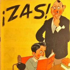 Collectionnisme de Revues et Journaux: REVISTA ZAS!. NÚMEROS 2 A 16. 1945. ASPIRANTES ACCIÓN CATOLICA. COMPLETO. Lote 209609590