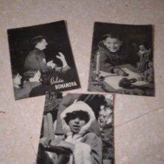 Coleccionismo de Revistas y Periódicos: LOTE DE TRES BOLETÍN BONANOVA LA SALLE NÚMEROS 38, 39 Y 40 DE 1958. Lote 209625281