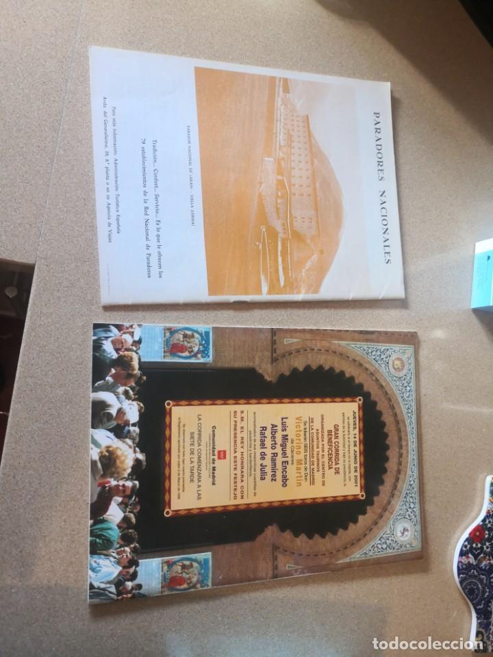 Coleccionismo de Revistas y Periódicos: 2 revistas coleccionismo, federación nacional taurina y otra - Foto 2 - 209641208