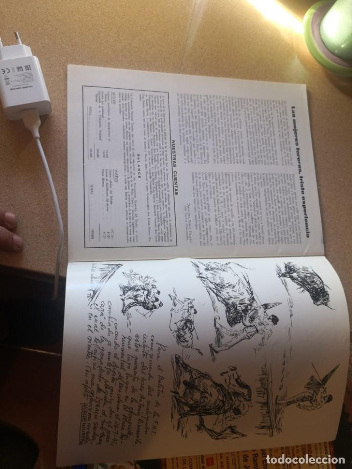 Coleccionismo de Revistas y Periódicos: 2 revistas coleccionismo, federación nacional taurina y otra - Foto 4 - 209641208