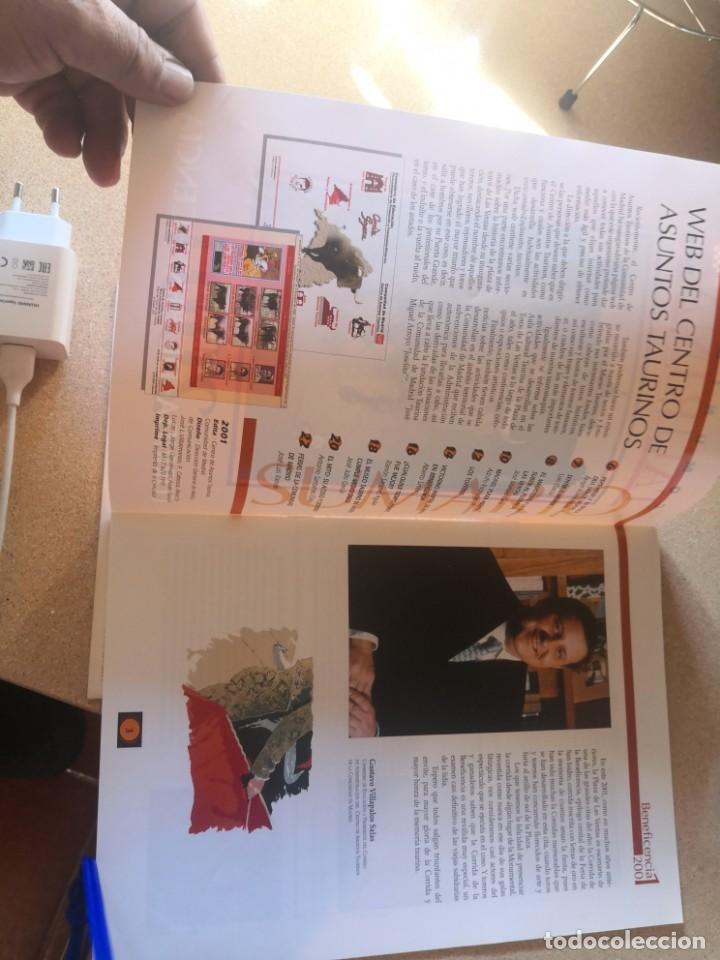 Coleccionismo de Revistas y Periódicos: 2 revistas coleccionismo, federación nacional taurina y otra - Foto 5 - 209641208