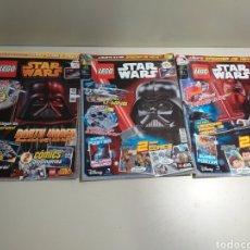 Coleccionismo de Revistas y Periódicos: LOTE DE 3 REVISTAS LEGO DE STARS WARS. Lote 209802495
