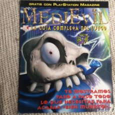 Colecionismo de Revistas e Jornais: MEDIEVIL, LA GUÍA COMPLETA DEL JUEGO. Lote 209855617