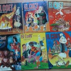 Collezionismo di Riviste e Giornali: 4 REVISTAS FALLERAS EL COET, 1967, 1972, 1975, Y 1979. Lote 209873998