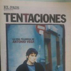 Coleccionismo de Revistas y Periódicos: EL PAIS DE LAS TENTACIONES 383 (FEBRERO 2001) ANTONIO VEGA (NACHA POP-MOVIDA) SPIKE LEE PEDRO GUERRA. Lote 209974773