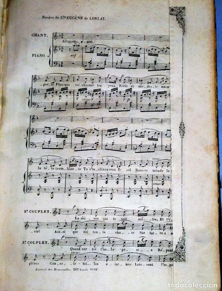 Coleccionismo de Revistas y Periódicos: JOURNAL DES DEMOISELLES. 20 ANNÉE. 1852 - Foto 4 - 209983728