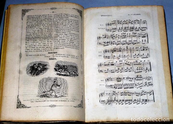 Coleccionismo de Revistas y Periódicos: JOURNAL DES DEMOISELLES. 20 ANNÉE. 1852 - Foto 5 - 209983728