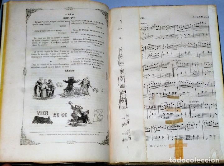 Coleccionismo de Revistas y Periódicos: JOURNAL DES DEMOISELLES. 20 ANNÉE. 1852 - Foto 6 - 209983728