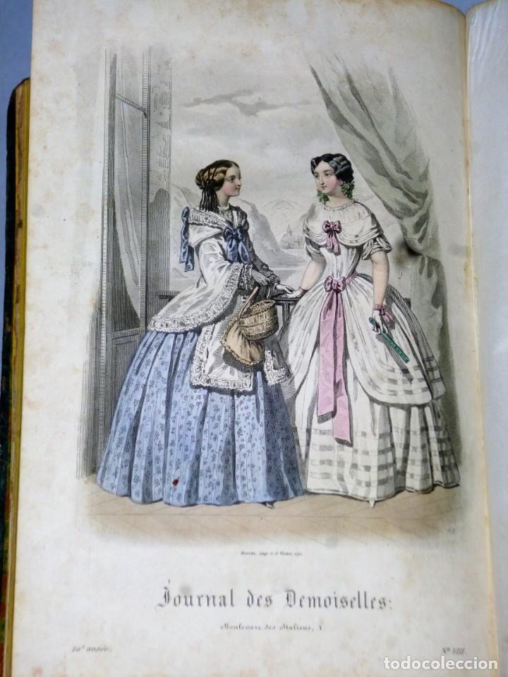 Coleccionismo de Revistas y Periódicos: JOURNAL DES DEMOISELLES. 20 ANNÉE. 1852 - Foto 8 - 209983728
