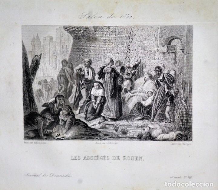 Coleccionismo de Revistas y Periódicos: JOURNAL DES DEMOISELLES. 20 ANNÉE. 1852 - Foto 9 - 209983728