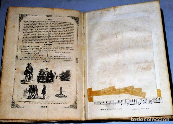 Coleccionismo de Revistas y Periódicos: JOURNAL DES DEMOISELLES. 20 ANNÉE. 1852 - Foto 10 - 209983728