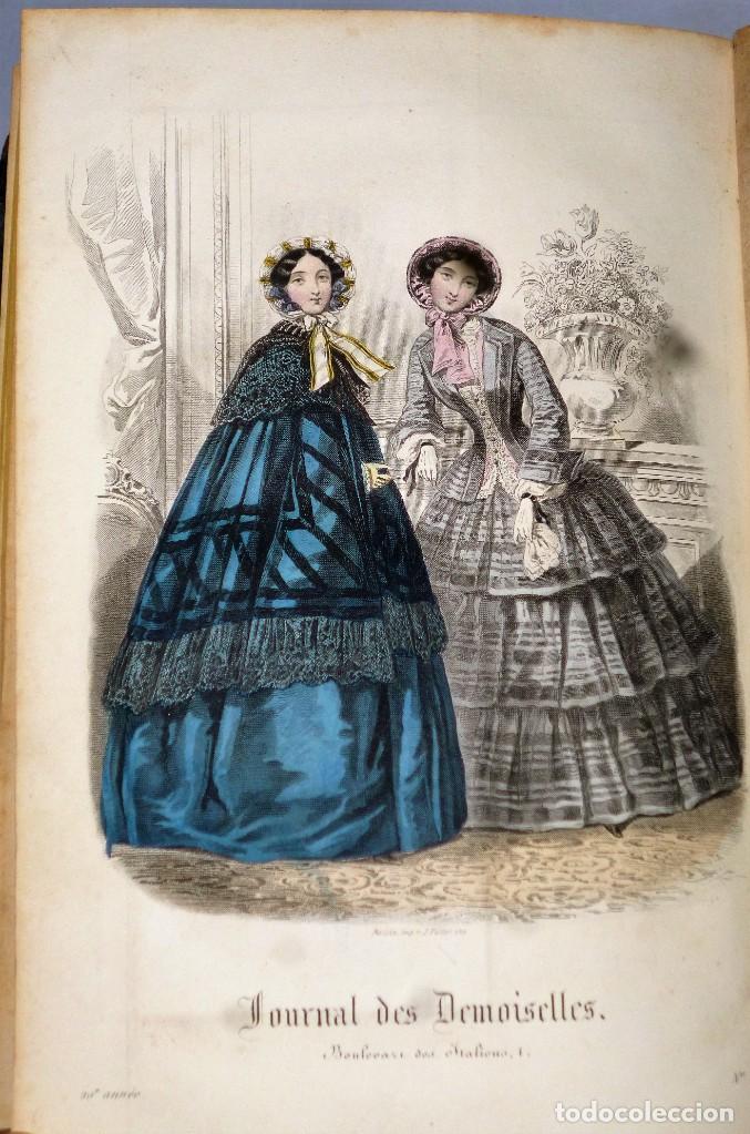 Coleccionismo de Revistas y Periódicos: JOURNAL DES DEMOISELLES. 20 ANNÉE. 1852 - Foto 11 - 209983728