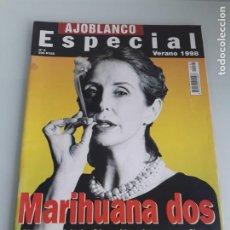 Collezionismo di Riviste e Giornali: REVISTA AJOBLANCO N.º 5 - ESPECIAL VERANO 1998 - MARIHUANA DOS. Lote 210037861