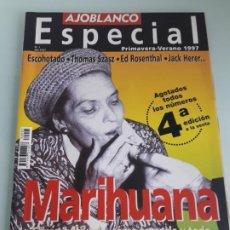 Collezionismo di Riviste e Giornali: REVISTA AJOBLANCO N.º 1 - ESPECIAL PRIMAVERA - VERANO 1997 - MARIHUANA. Lote 210038108