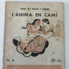 Coleccionismo de Revistas y Periódicos: QUADERNS LITERARIS. NOVEL.LES I NOVEL.LISTES. AÑO I. Lote 210101692