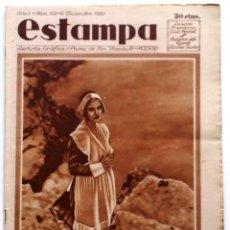 Coleccionismo de Revistas y Periódicos: ESTAMPA, REVISTA GRÁFICA Y LITERARIA. 6 DE DICIEMBRE DE 1930, N.º 152. ORIGNAL DE ÉPOCA.. Lote 210101762