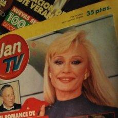 Coleccionismo de Revistas y Periódicos: REVISTA CLAN TV 302 AÑO 1992 RAFFAELLA CARRÁ. Lote 210157066