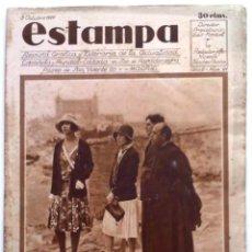Coleccionismo de Revistas y Periódicos: ESTAMPA, REVISTA GRÁFICA Y LITERARIA. 8 DE OCTUBRE DE 1929, N.º 91. ORIGNAL DE ÉPOCA.. Lote 210186170