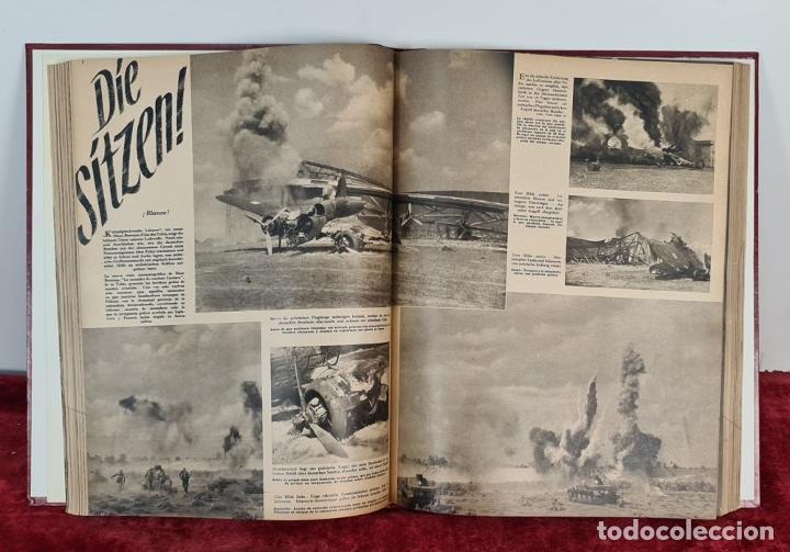 Coleccionismo de Revistas y Periódicos: COLECCION DE 68 REVISTAS ADLER. PROPAGANDA DE GUERRA DE LA LUFTWAFFE. 1940-1943. - Foto 3 - 210195380