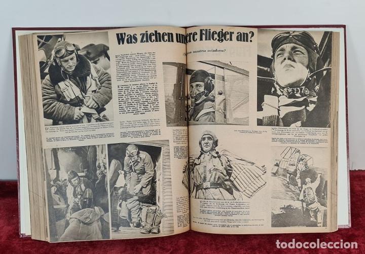 Coleccionismo de Revistas y Periódicos: COLECCION DE 68 REVISTAS ADLER. PROPAGANDA DE GUERRA DE LA LUFTWAFFE. 1940-1943. - Foto 5 - 210195380