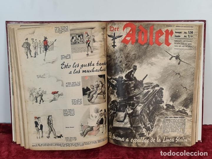 Coleccionismo de Revistas y Periódicos: COLECCION DE 68 REVISTAS ADLER. PROPAGANDA DE GUERRA DE LA LUFTWAFFE. 1940-1943. - Foto 6 - 210195380
