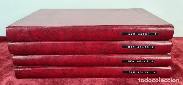 COLECCION DE 68 REVISTAS ADLER. PROPAGANDA DE GUERRA DE LA LUFTWAFFE. 1940-1943. (Coleccionismo - Revistas y Periódicos Modernos (a partir de 1.940) - Otros)