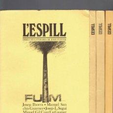 Colecionismo de Revistas e Jornais: L,ESPILL N,8,9,10/11,20.DIRECCIO LITERARIA DE JOAN FUSTER VALENCIA,HIVERN 1980,PRIMAVERA 1981-1985. Lote 210210035
