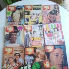 Colecionismo de Revistas e Jornais: LOTE DE 10 REVISTAS TELE SIETE ( DEL 1 AL 9 Y LA 17 ). Lote 210303533