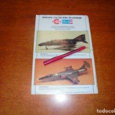 Coleccionismo de Revistas y Periódicos: PUBLICIDAD 1980: KITS DE MONTAJE CONGOST. REVELL.. Lote 210353361