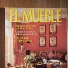 Coleccionismo de Revistas y Periódicos: REVISTA DE DECORACIÓN - EL MUEBLE - Nº 413 - ESPECIAL CHIMENEAS. Lote 210353411