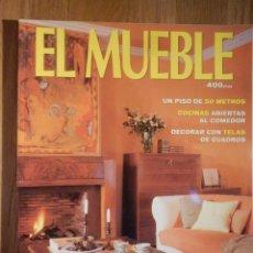 Coleccionismo de Revistas y Periódicos: REVISTA DE DECORACIÓN - EL MUEBLE - Nº 427 - ESPECIAL CORTINAS. Lote 210353421