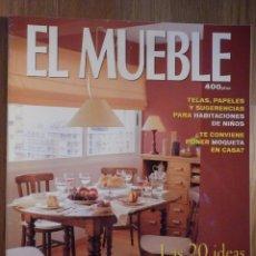 Coleccionismo de Revistas y Periódicos: REVISTA DE DECORACIÓN - EL MUEBLE - Nº 426 - ESPECIAL HABITACIONES INFANTILES. Lote 210353431