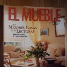 Coleccionismo de Revistas y Periódicos: REVISTA DE DECORACIÓN - EL MUEBLE - Nº 415 - ESPECIAL CORTINAS. Lote 210353436