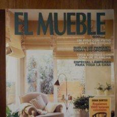 Coleccionismo de Revistas y Periódicos: REVISTA DE DECORACIÓN - EL MUEBLE - Nº 447 - ESPECIAL LÁMPARAS. Lote 210353467