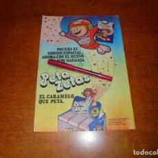 Coleccionismo de Revistas y Periódicos: PUBLICIDAD 1980: PETA ZETAS, EL CARAMELO QUE PETA.. Lote 210353535