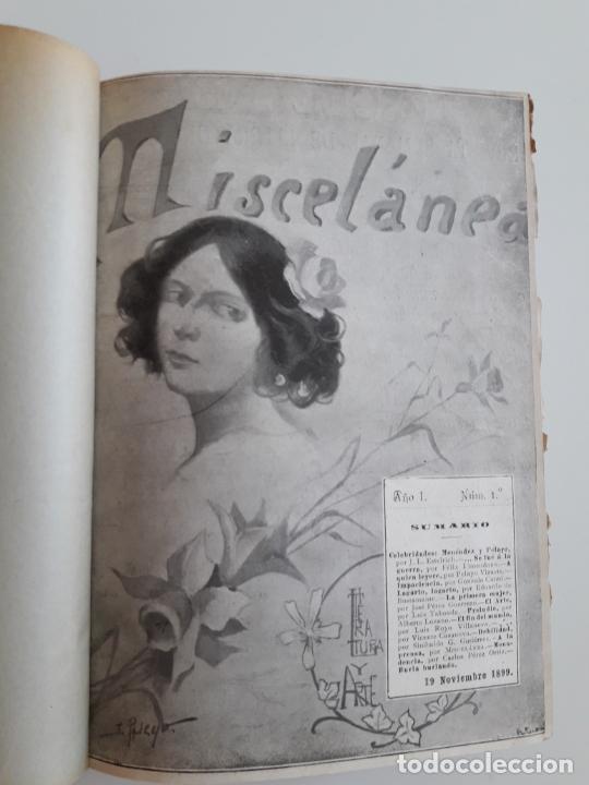 Coleccionismo de Revistas y Periódicos: Revista miscelánea completo año I -59 revistas - Foto 3 - 210396903