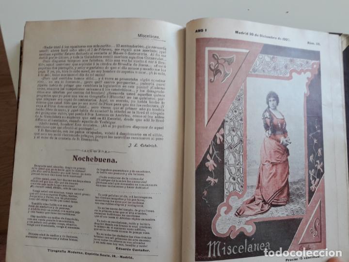 Coleccionismo de Revistas y Periódicos: Revista miscelánea completo año I -59 revistas - Foto 6 - 210396903