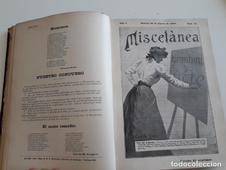 Coleccionismo de Revistas y Periódicos: Revista miscelánea completo año I -59 revistas - Foto 10 - 210396903